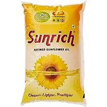 [Pantry] Sunrich Sunflower Oil, 1L Pouch
