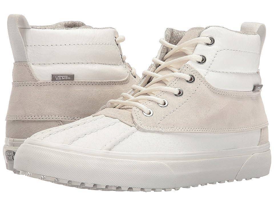 Vans SK8-Hi Del Pato MTE ((Scotchgard) Blanc De Blanc/Polka Dots) Skate Shoes