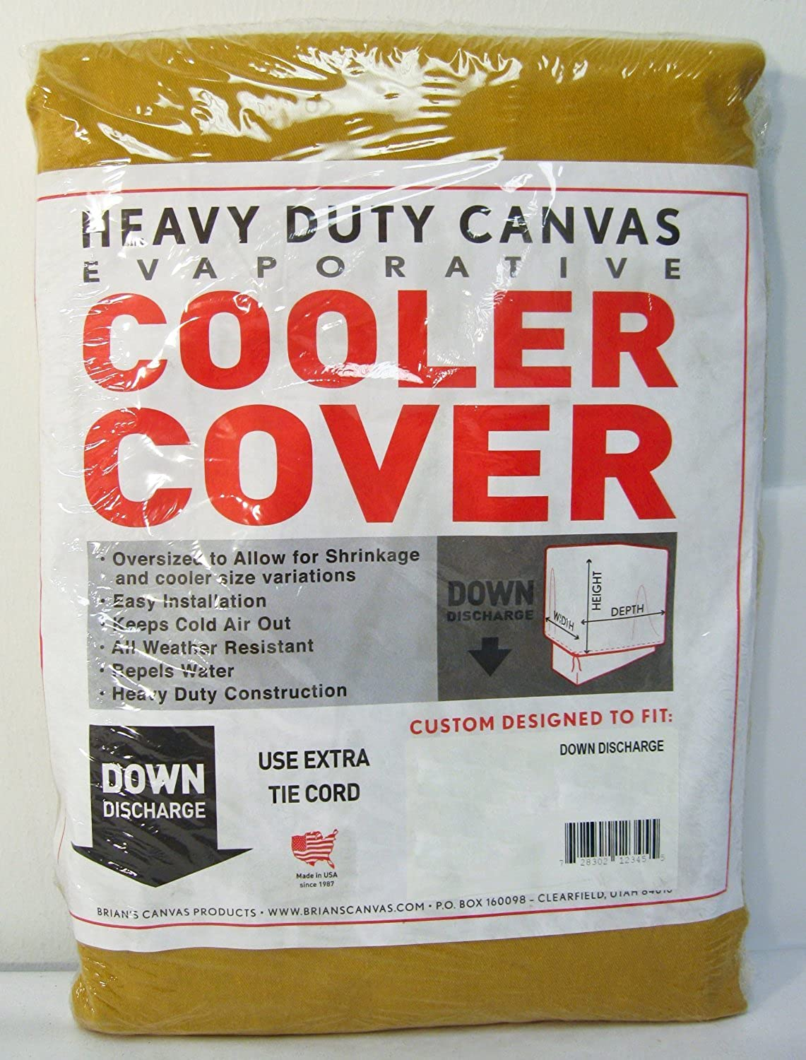 42 in. x 45 in. x 35 in. Evaporative Cooler Down Discharge Cover