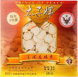 Prince of Peace® Wisconsin American Ginseng 5 Year Root Jumbo Slices (3oz)