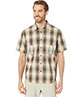 Short Sleeve Feather Cloth Shirt