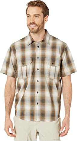 Beige/Brown/Black Plaid