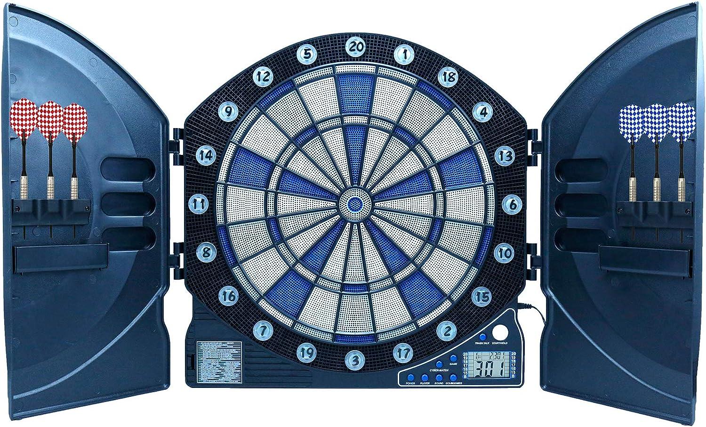 Best Best Best Sporting elektronische Dartscheibe Cambridge mit LED beleuchteten Ziffern, Dartautomat mit 6 Dartpfeilen, Dartboard mit Netzteil B071GZ6M7L  Modisch 7468de