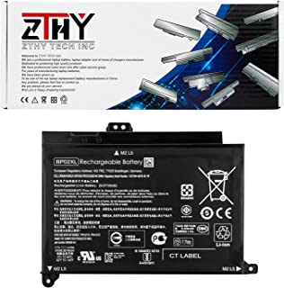 ZTHY BP02XL 849909-850 Battery for HP Pavilion Notebook PC 15 15-AU000 15-AU010WM 15-AU018WM 15-AU020WM 15-AU062NR 15-AU123CL 15z-AW000 AW068NR AW053NR AW002LA TPN-Q172 849569-421 849569-542 7.7V 41Wh