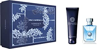 Versace Pour Homme Eau De Toilette Giftset, 100ml + Hair and Body Shampoo 150ml
