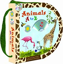 Animals A to Z (Zip & Carry Book) (with audio CD) (Smithsonian Institution- Zip & Carry)
