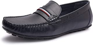 Missali | Genuine Leather Driving Loafers | Driving Shoes for Men | Causal Shoes for Men | Handcrafted | Leather Slip-On S...