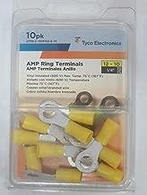 Tyco CPGI-2-1838162-0-10 AMP Ring Terminals Pack Of 10