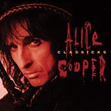Classicks - The Best Of Alice Cooper Translucent Red & Black Swirl Audiophile Tri-Fold Cover/Poster