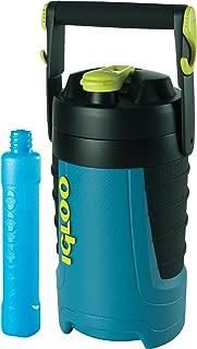 Igloo Proformance 1/2 Gallon with Freeze Stick, Ice Blue/Black/Black/Black, 64 Oz.