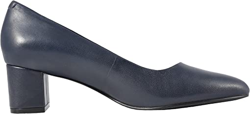 Navy Soft Nappa Leather