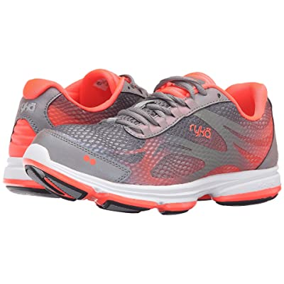 Ryka Devotion Plus 2 (Frost Gre/COol Mist Grey/Electric Coral) Women
