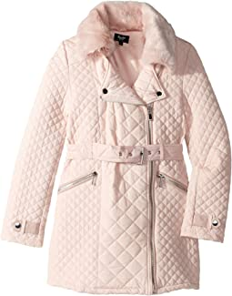 Quilted Fur Coat (Big Kids)