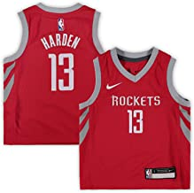 Nike James Harden Houston Rockets NBA Infants 12-24 Months Red Road Icon Edition Replica Jersey