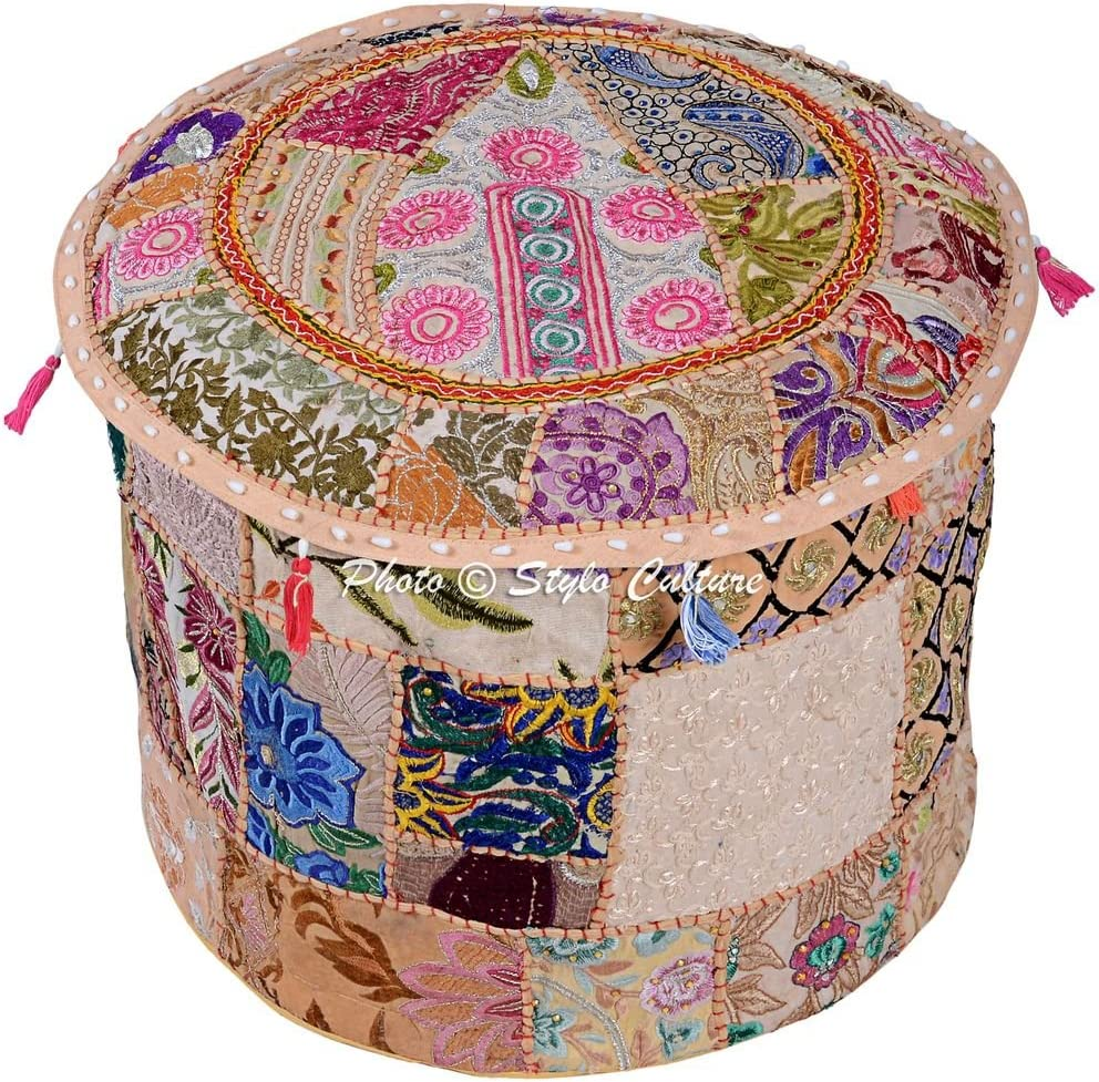 Stylo Culture Max 73% OFF Ethnic Indian Max 41% OFF Ottoman Patchwork Embroidered Cotton