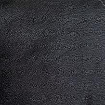 Faux Fake Fur Solid Velboa Black 60 Inch Fabric by the Yard (F.E. (Black)