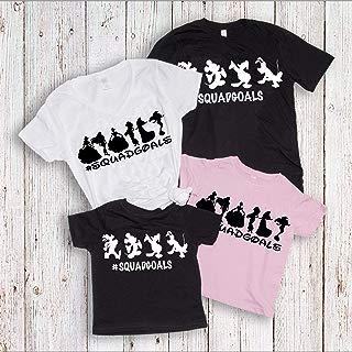 Squad Goals Shirts, Disney Family Matching T-shirts, Vacation trip Tees, Women's Unisex Summer Tanks
