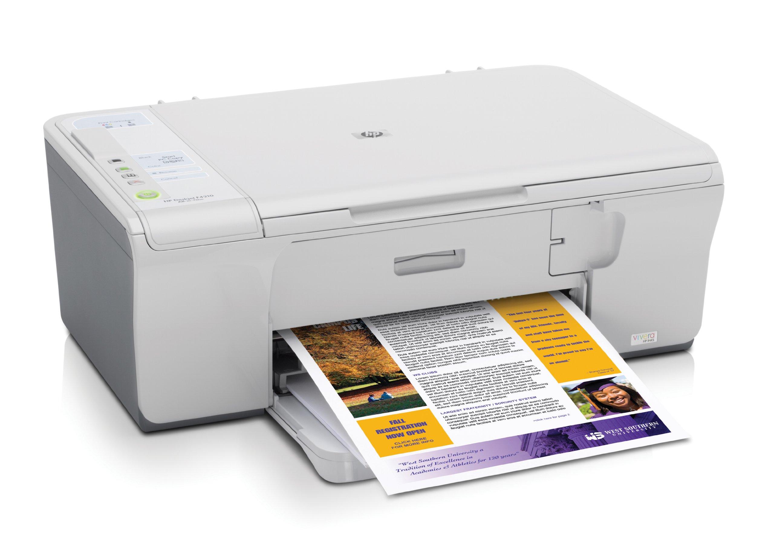 HP Deskjet F4210 - Impresora multifunción (Inyección de Tinta ...