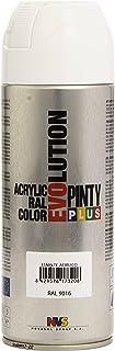 comprar comparacion Pintyplus Evolution - Pintura spray acril, Blanco 9016/602, 400 ml