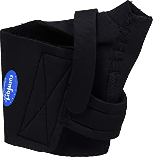 Comfort Cool Thumb CMC Restriction Splint, Provides Direct Support for The Thumb CMC Joint While Allowing Full Finger Function, Left Hand, X-Large