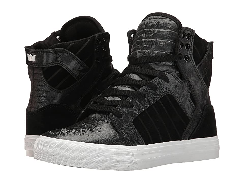 Supra Skytop (Black Oil Slick) Women