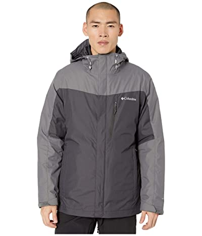 Columbia Whirlibirdtm IV Interchange Jacket (Shark/City Grey) Men