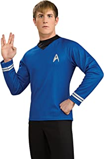 Rubie's Costume Star Trek Into Darkness Deluxe Spock Shirt With Emblem