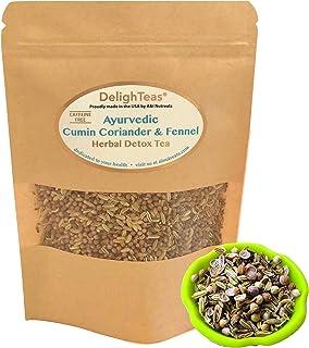 Ayurvedic Detox Cumin, Coriander and Fennel Tea - Organic Detox Tea - Supports weight management and enhances nutrient abs...