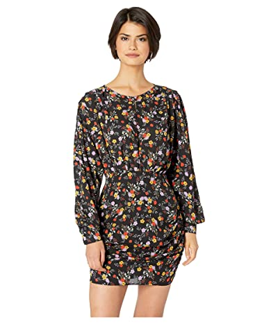 ASTR the Label Dawn Dress (Black Multi Floral) Women