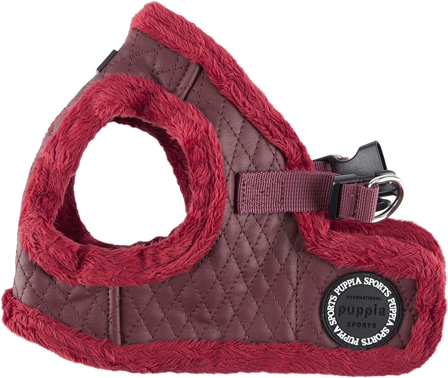 Puppia Authentic Farren Harness B, Large, Wine