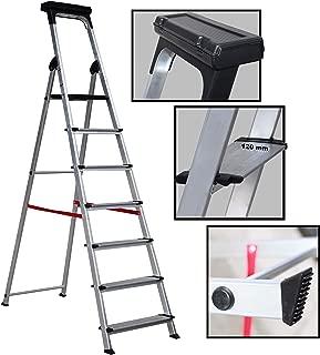 Escalera Ancha de Aluminio ELITE PLUS (7 Peldanos