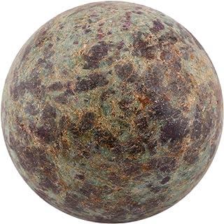 DHAROHAR HANDICRAFT Healing Chakra Stones Crystal Decor Quartz Sphere, Reiki Energy Meditation Negative Ion Generator Sphe...