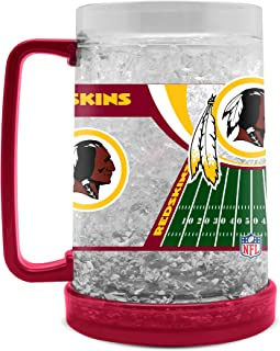 NFL Washington Redskins 16oz Crystal Freezer Mug