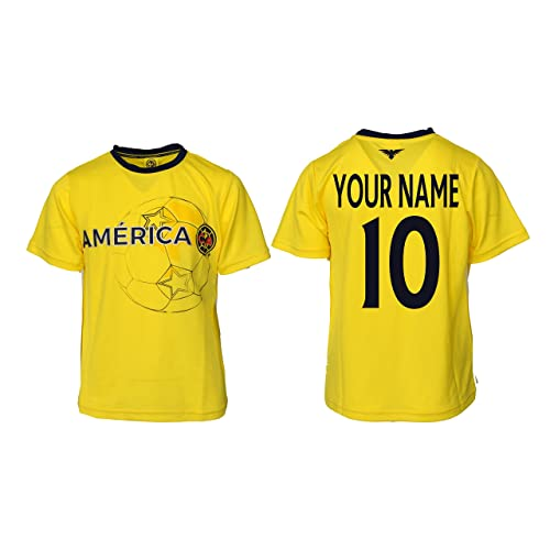 44e440753 Icon Sport Club America Soccer Jersey Mexico FMF Adult Training Custom Name  and Number