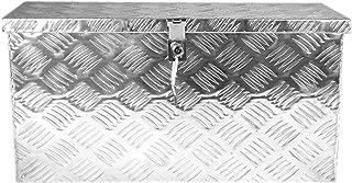 POINSETTIA Aluminum Tool Box Trailer Storage for Truck 60x25x30cm, Silver