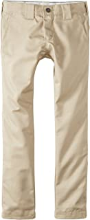Dickies - - QP801 flaco Pantalón recto del niño