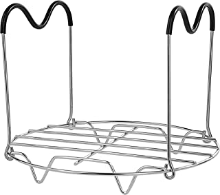 Rejilla de vapor Soporte de Acero Inoxidable Cocina Steamer Rack Soporte de Alimentos Estantes Soportes para 6 qt 8 qt