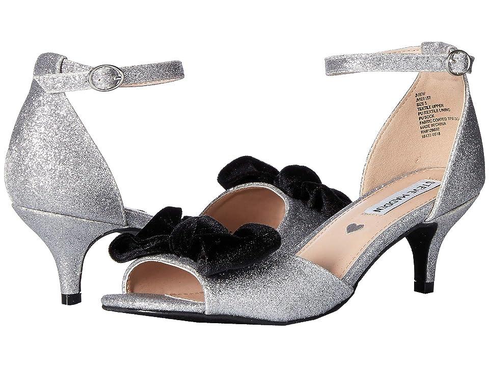 Steve Madden Kids Jview (Little Kid/Big Kid) (Silver) Girls Shoes
