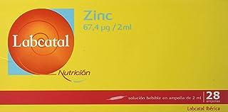 Labcatal Nutrición. Zinc. 28 Amp/ 2ml