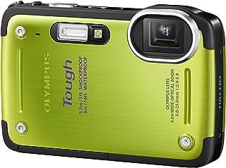 OLYMPUS デジタルカメラ TG-620 1200万画素 5m防水 裏面照射型CMOS 広角28mm グリーン TG-620 GRN