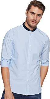 Lee X-Line Men's Striped Slim fit Casual Shirt