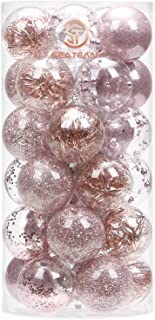 Best rose gold glitter ornaments Reviews
