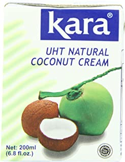 Kara Coconut Cream, 6.8 Ounce (Pack of 25)