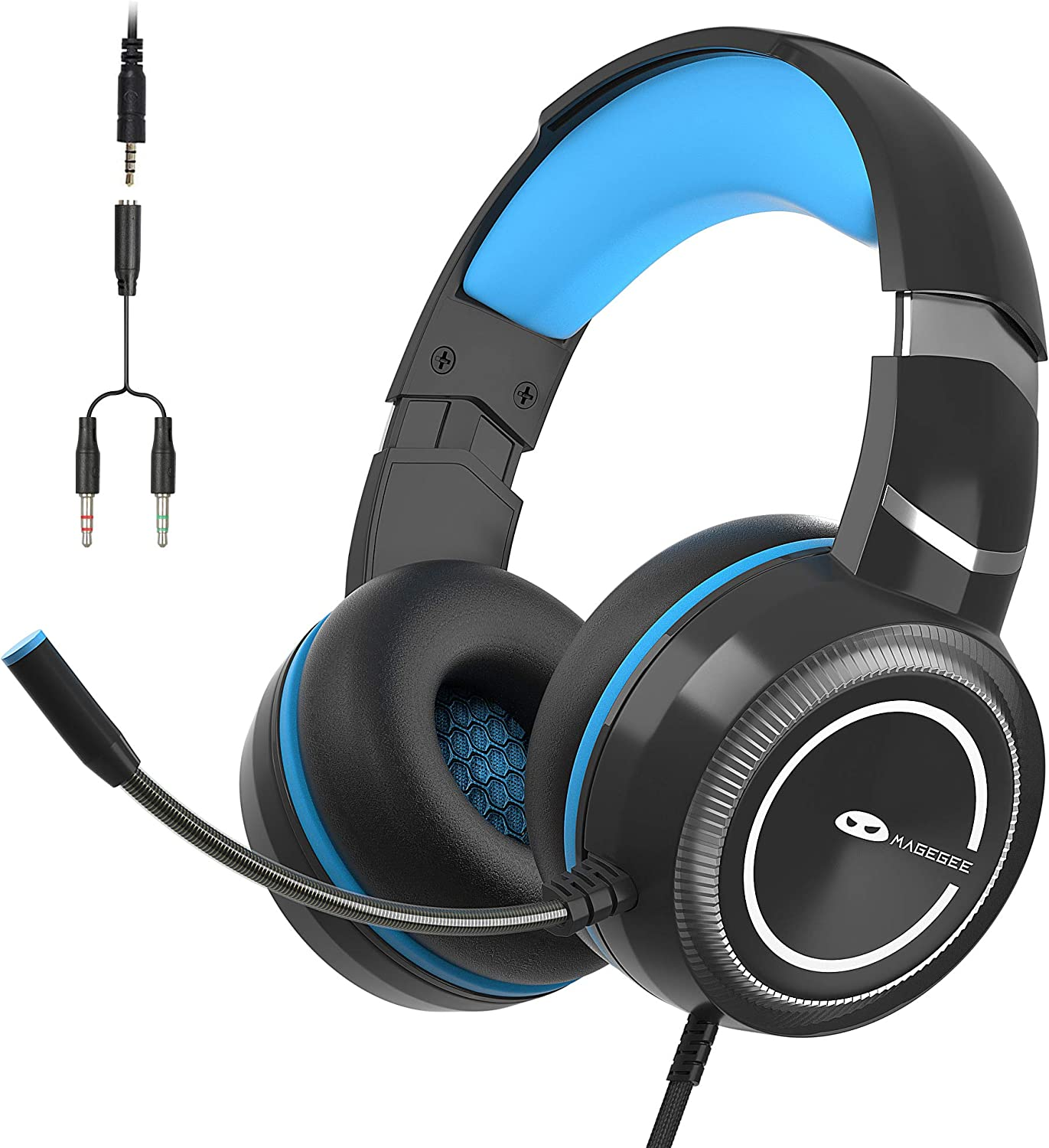 MageGee Max 65% OFF E6 Gaming Ranking TOP13 Headset with Wired Over-Ear Mi