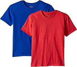 Polo Ralph Lauren Kids 2-Pack Crew Tee (Little Kids/Big Kids)