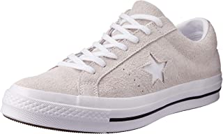 Converse One Star Ox White/White/White, Men's Shoes, White, 9.5 UK (43) (161577C)
