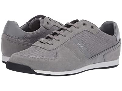 BOSS Hugo Boss Maze Mixed Materials by BOSS (Medium Grey) Men