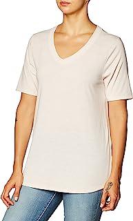 Fruit Of The Loom Women's Essentials All Day Elbow Length V-Neck T-Shirt Shirt