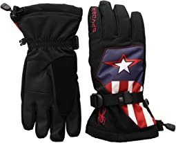 Spyder Marvel Overweb Gloves (Little Kids/Big Kids)