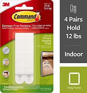 Command Narrow Picture Strips (Pack of 4)
